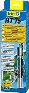 Tetra HT 75 W Reglerheizer, leistungsstarker Aquarienheizer zur Abdeckung unterschiedlicher Leistungsstufen mit Temperatureinstellknopf,