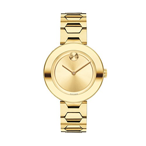Movado Ladies' Bold Gold Plate Watch 3600382