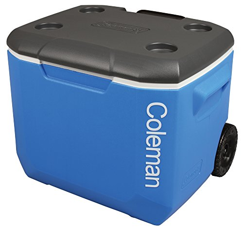 Coleman Tricolour 60QT Performance Wheeled Cooler