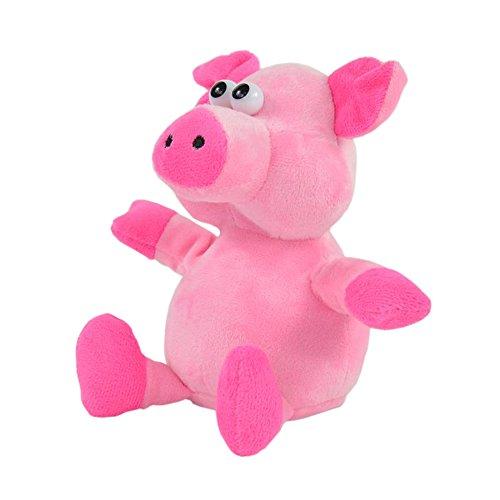 Süßes nachäffendes Plüsch Ferkel - Plapper Schwein Stofftier - Witzig - Aufnahmefunktion