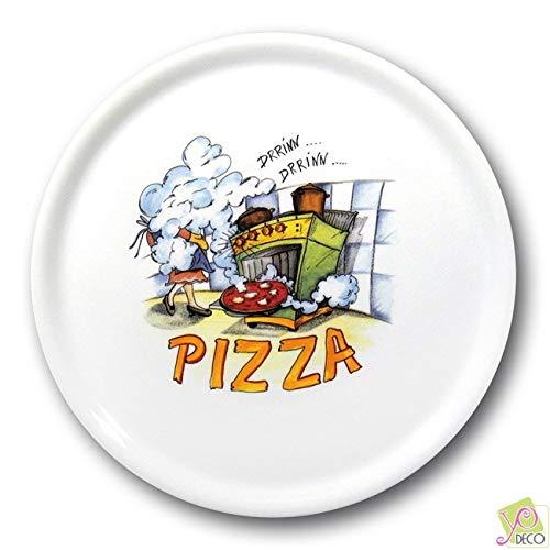 Lot de 6 assiettes à pizza Florence - D 31 cm - Napoli