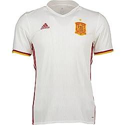 Camiseta Selección Española Away Mundial 2016-2017 White-Red Talla XL