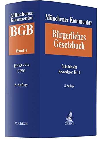 Münchener Kommentar zum Bürgerlichen Gesetzbuch  Bd. 4: Schuldrecht - Besonderer Teil I §§ 433-534, Finanzierungsleasing, CISG