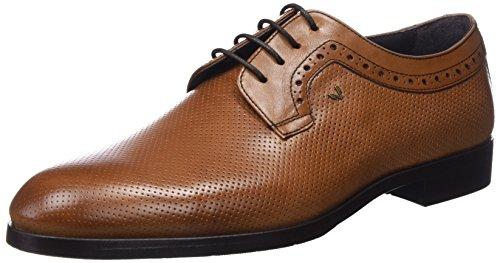 Martinelli Kingsley 1326-1858PYM, Zapatos de Cordones Derby para Hombre, Marrón (Cuero), 42 EU