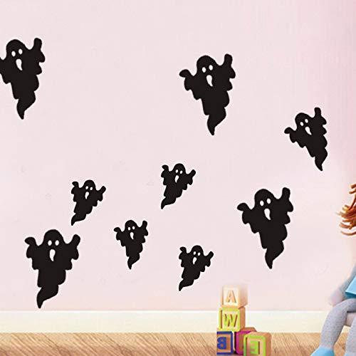 JXFY Halloween Wandaufkleber Umweltschutz cool geschnitzte Halloween Aufkleber 31x57cm
