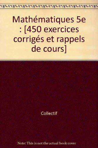 JOKE.501 MATHS 5EME (Ancienne Edition)