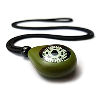 Polymath Products CMP-20 Compass Necklace. Rugged and reliable navigation aid with precision luminous dial. UK-made. 8