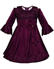 Wish Karo Baby Girls Dress Birthday Frocks for Girls - Lycra - (fe2644)