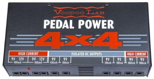 LABORATORIO DE VOODOO pedales POWER 4X4 Amp y efecto accesorios accesorios para pedales