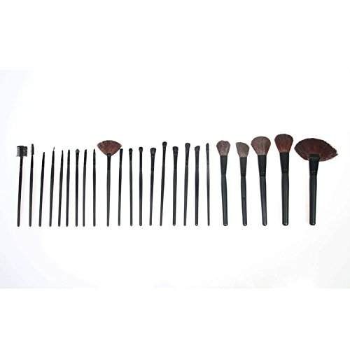 Hrph warm eye shadow Warm Eyeshadow Palette with 24 pcs Makeup Brushes Set