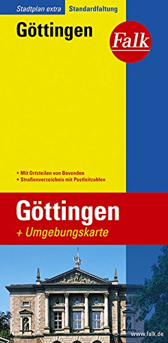 Falk Stadtplan Extra Standardfaltung Göttingen