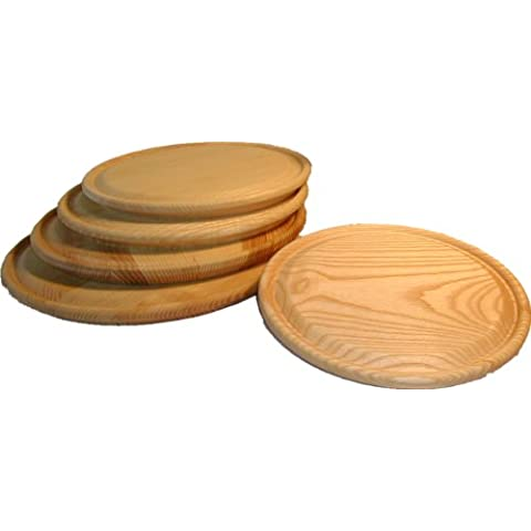Plato MK 26, madera de fresno