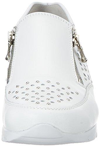 Semler Damen Nelly Sneakers Weiß (weiss-silber)