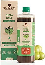 UPAKARMA Ayurveda Amla Juice Natural Juice for Building Immunity and Digestion Booster I No Added Sugar - 1L