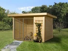 weka niche abri pour chiens avec toit 1 pente 7m2 sans plancher cuisine maison. Black Bedroom Furniture Sets. Home Design Ideas