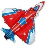 """SuperFighter Jet Balloon 26"""" Foil Balloon"""