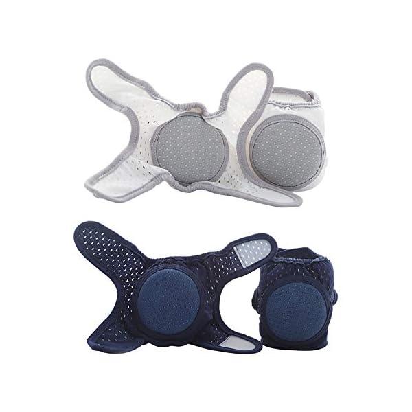 DERNISH - Rodilleras para bebé (anticaídas, para verano, para niños y niños) 4