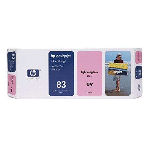 680 Ml Light (HP DesignJet 5000 PS UV Printing - Original HP / C4945A / Nr. 83 / UV - Tinte light Magenta - 680 ml)