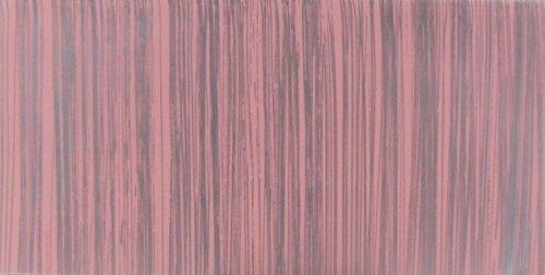 Wachsplatte rosa silber, gestreift 20x10 cm - 9789 - Verzierwachsplatte 200x100 mm für Kerzen