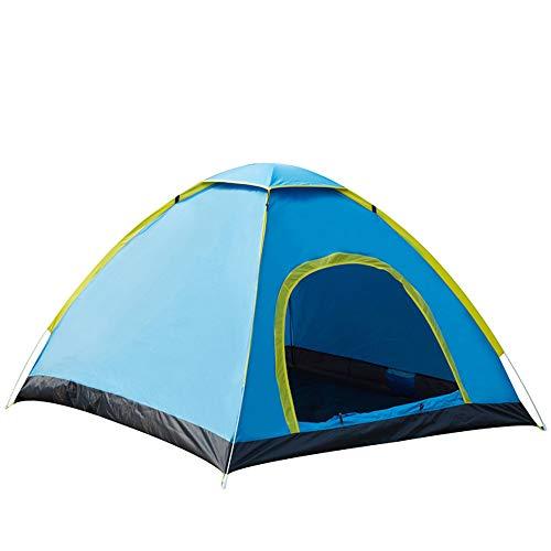 Automatisches Zelt im Freien, doppeltes Doppeltürzelt, 3-4 Personen, Zelt,3~4people