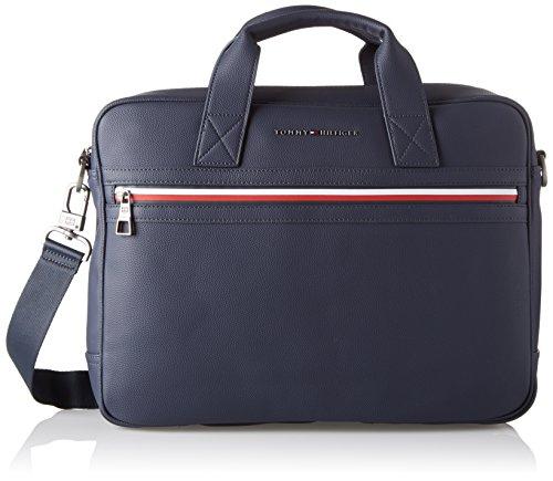Tommy Hilfiger 2 Tasche (Tommy Hilfiger Herren Essential Computer Bag Ii Laptop Tasche, Blau (Tommy Navy), 5x3x12 cm)