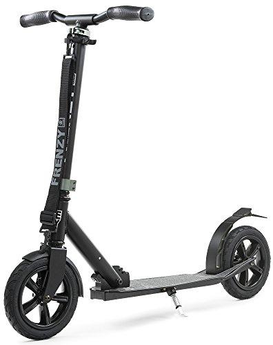 Frenzy - pneumatischer Klapp-Roller - 205 mm Lufträder - schwarz -