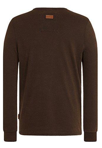 Naketano Male Sweatshirt Suppenkasper Langen V Heritage Black
