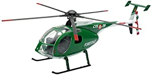 New Ray 25323 - Helicópteros Escala NH500 Forestal, Escala 1:32, Die Cast
