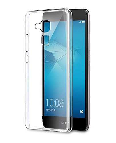 Johra Premium Quality Ultra Thin Transparent Exclusive Soft Back Cover for Huawei Honor 5c Transparent Back Cover