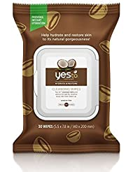 Yes To Coconut Cleansing Wipes, Brown, 30 Count by Yes to Coconut