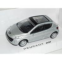 Peugeot 207 3 Türer Orange 2006-2012 1//24 Bburago Modell Auto mit oder ohne in..