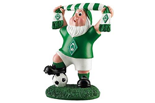 SV Werder Bremen Schal klein Gartenzwerg (one size, grün/weiß)