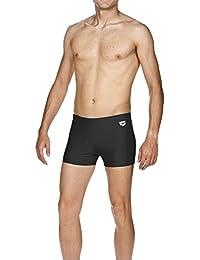 Arena BadeBioscos - Boxer de natación para hombre, tamaño 6, color black,met.silver