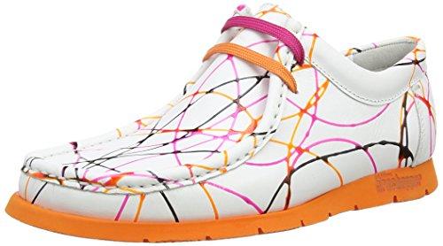 Sioux Grashopper-D-141, Mocassins (loafers) femme Multicolore - Mehrfarbig (lampone-papaya)