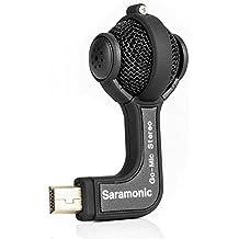 Saramonic Go-Mic Micrófono de condensador de Mini Dual X / Y Estéreo para GoPro HERO3, HERO3+, HERO4 Cámaras