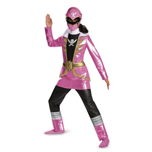 Pink Ranger Super Megaforce Deluxe Child Costume ()