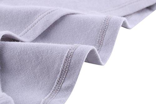 Grossesse Culottes, KUCI® Femmes Maternité Coton Culotte Culotte Enceintes D'allaitement Slips Pack 3 Nude+Nude+Grey/3pack