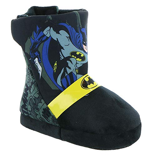 Favorite Characters Batman Boys Slipper Boots (Toddler/Little Kid) Black