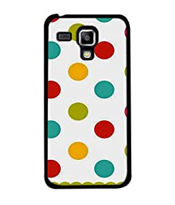 PrintVisa Designer Back Case Cover for Samsung Galaxy S Duos S7562 (Sweet pretty cool design dots on white)