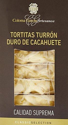 Coloma Garcia Tortitas Touron Dur Cacahouète Classic 180 g