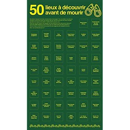 Poster Bucket list: 50 lieux à découvrir avant de mourir