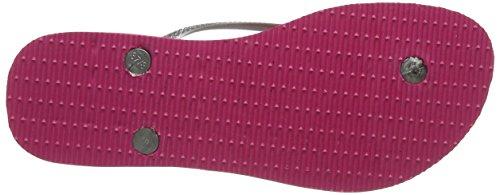 Havaianas Flip Flops Slim Tropical Zehentrener für Frauen Mehrfarbig ( Rosa 2655)