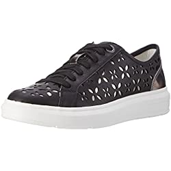 s.Oliver Damen 23629 Sneakers, Schwarz (Black Comb 98), 39 EU