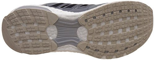adidas Energy Boost 3, Chaussures de Course Homme, Noir Gris (Mid Grey/Unity Ink/Vapour Green)