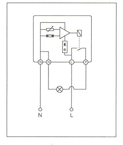 Dämmerungsschalter Dämmerungssensor WZ200n-10/230V AC Aufputz-Montage im Außenbereich IP54 - 2