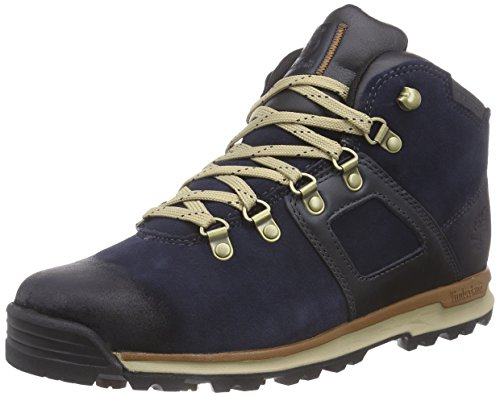 Timberland Herren GT Scramble Leather Waterproof Chukka Boots, Blau (Navy), 42 EU -