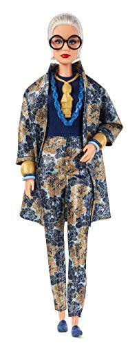 Barbie FWJ28 - Signature Styled By Iris Apfel Collector Puppe, für Sammler, Modeikone mit blauem Outfit, ab 6 Jahren