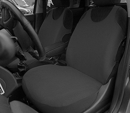 POK-TER-TUNING Autositzbezüge - Passend für Golf IV, V. Design T-Shirt. Set 1+1. in Diesem Angebot Dunkelgrau. in 8 Farben Bei Anderen Angeboten erhältlich.