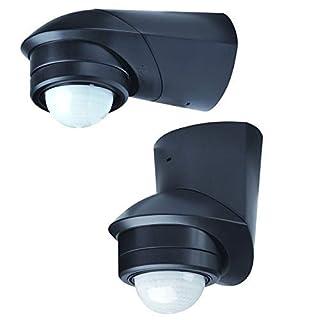 Grothe Bewegungsmelder 240 Grad 230 V, Aufputz, IP55, Mc Guard Pro BM 240 sw, schwarz, 5167043