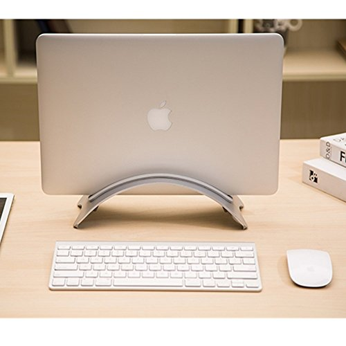URBAN KINGS Aluminum alloy vertical laptop desk stand rack tray for macbook air,i pad and samsung galaxy